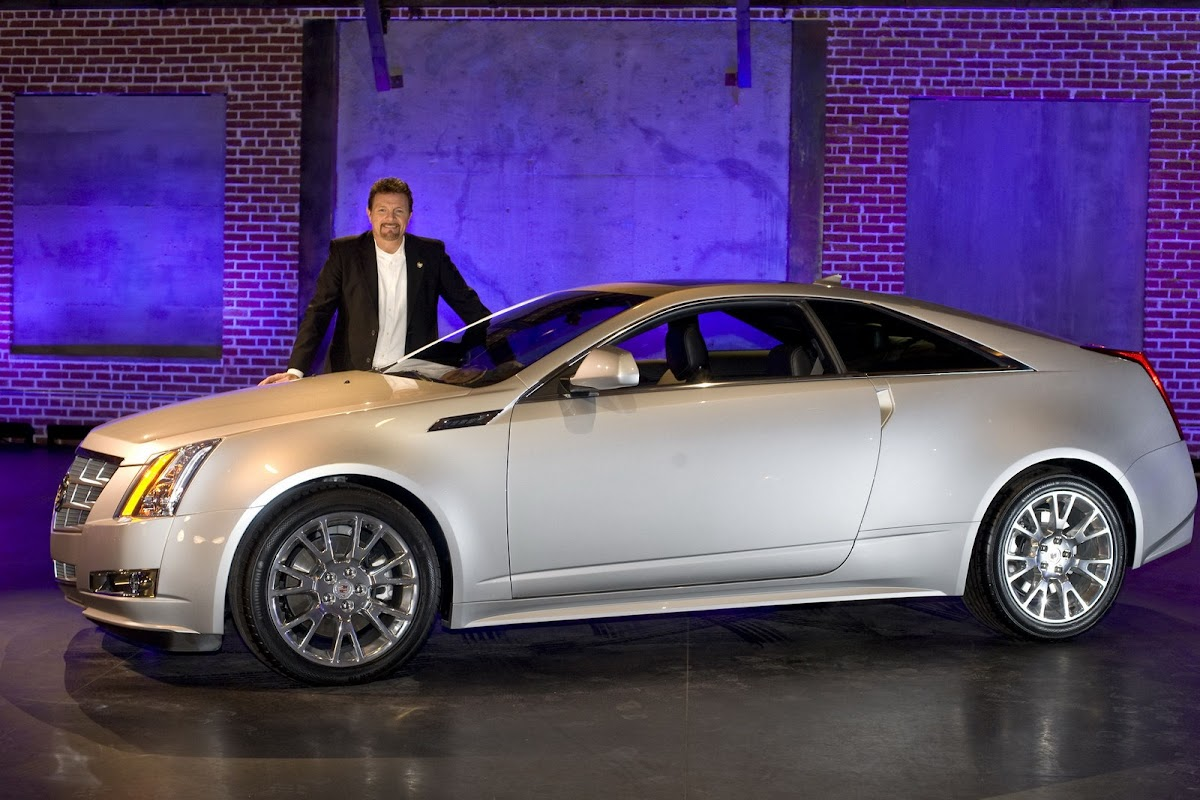 2011 cadillac cts coupe at los angeles international auto show
