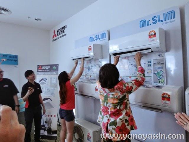 Barang Elektrik Mitsubishi aircond kipas angin peti ais