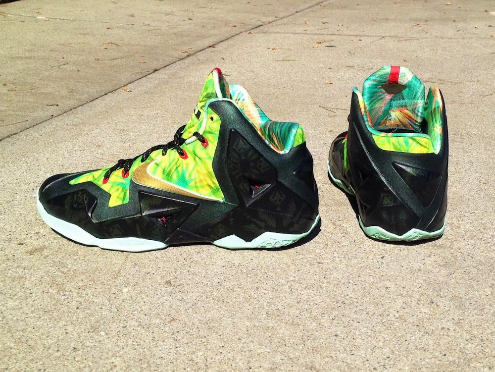 Nike LeBron 11 Championship Pack by Lancer Custom