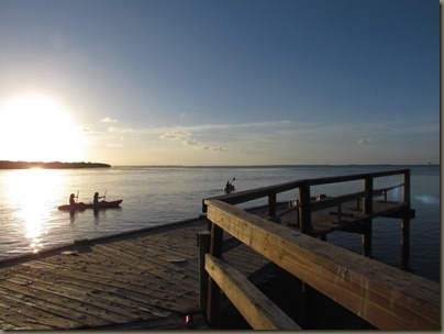 kayakers at sunshine key marina