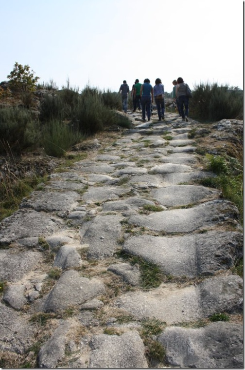 Panchorra - Calçada romana