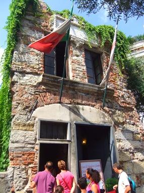 casa natal de Cristobal Colón, Génova