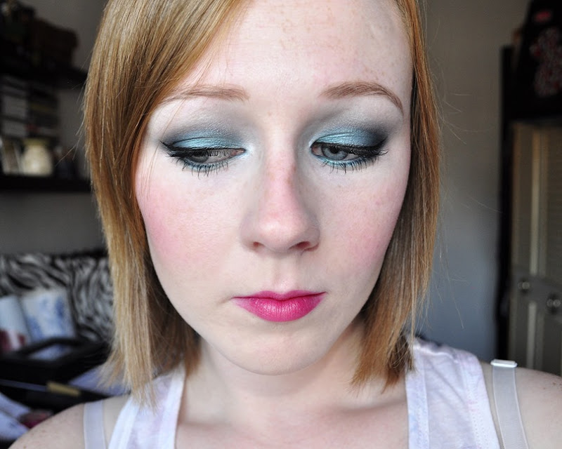 blue had me at hello wetnwild makeup look swatches FOTD 2