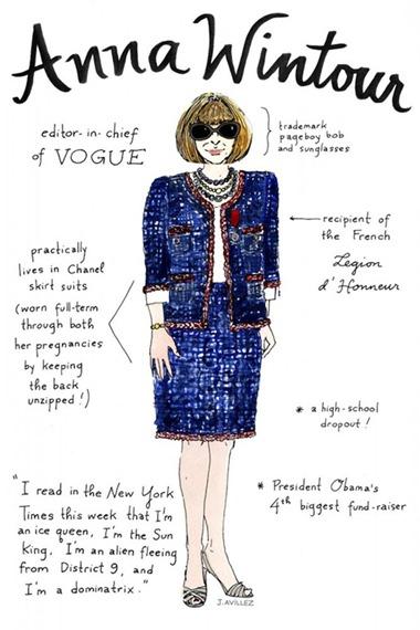 editora anna wintour estilo moda