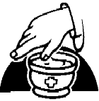 símbolos da páscoa - óleos santos