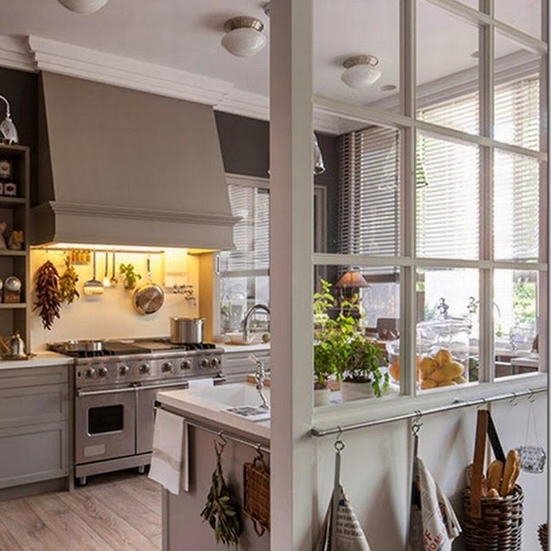 Semplicit e calore del legno case e interni for Interni parigini