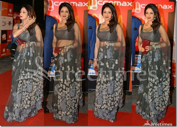Sridevi_Grey_Net_Saree(1)