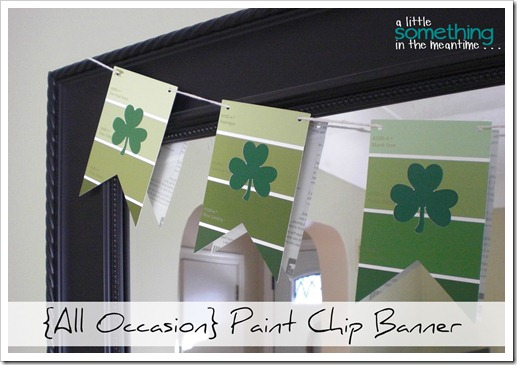 All Occasion Paint Chip Banner Project Gallery