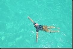 Snorkelling Anthony