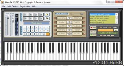 PianoFX Studio 4.0 screenshot