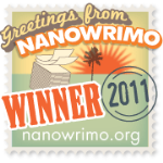 NaNoWriMo 2011 Winner Badge