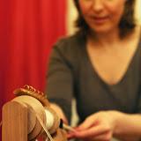Воркшоп по арт-прядению. Фото Элины Камаевой.
