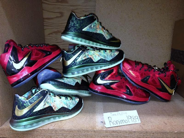 LeBron PS X Elite 038 Low 2Time Champion Pack Available on eBay