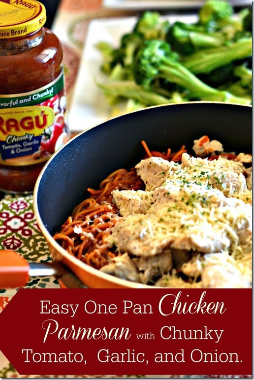 Easy-One-Pan-Chicken-Parmesan-with-Chunky-tomato-garlic-and-onion