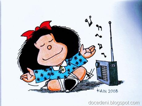 Mafalda-cantando