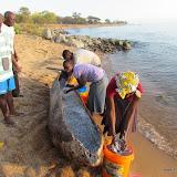 Kano met vis