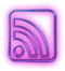 114158-glowing-purple-neon-icon-social-media-logos-rss-cube
