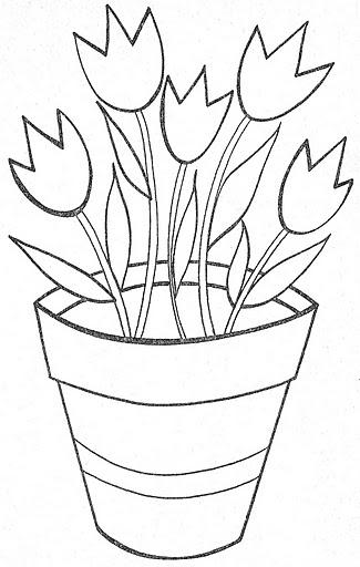 dibujos de macetas de flores para imprimir imagui On dibujos para macetas