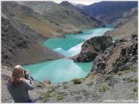 Горное озеро. Тибет.Фото Лобанова В. www.timeteka.ru