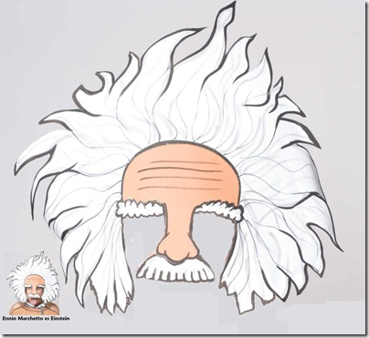 mascara einstein 1
