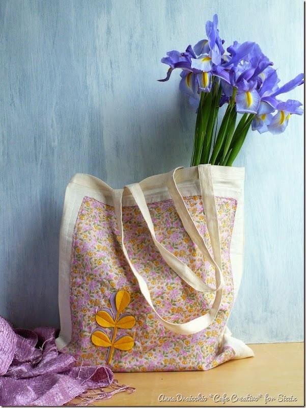 cafe creativo - sizzix big shot plus starter kit - shopping bag - felt fabric - feltro stoffa (1)