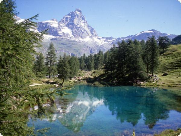 valle d'aosta lago