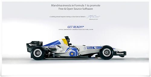 Mandriva in Formula 1