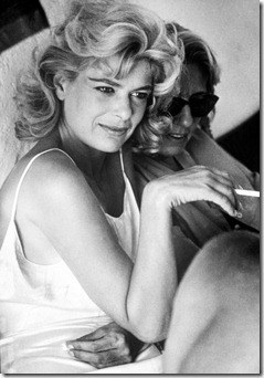 25/07/1990. CLOSE-UP ET ARCHIVES MELINA MERCOURI
