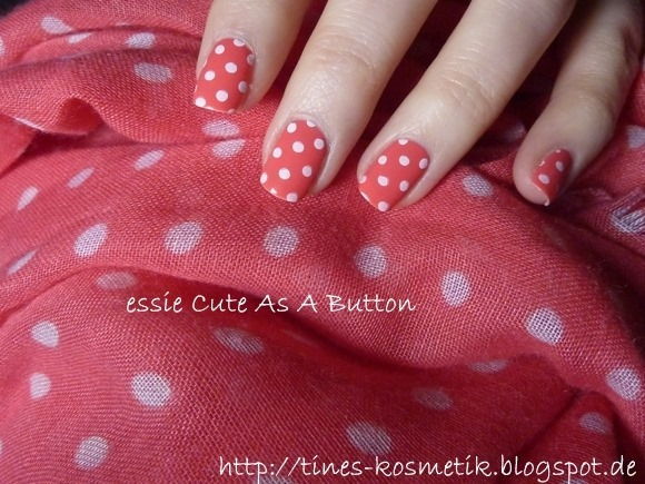 essie Cute As A Button Stamping 3