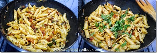 Masala pasta recipe step5