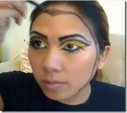 maquillaje abeja