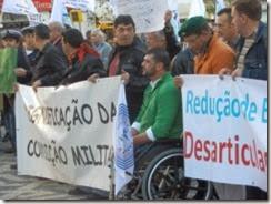 Militares voltam a manifestar-se em Novembro. Out.2013