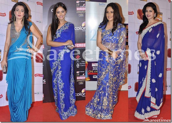 Bollywood_Blue_Saree_Fashion_2013