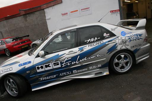 Lexus IS 200 Drift Style