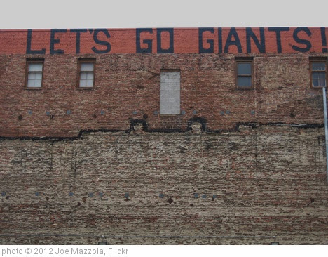 'Let's Go Giants' photo (c) 2012, Joe Mazzola - license: https://creativecommons.org/licenses/by-sa/2.0/