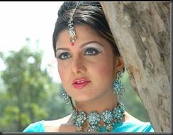 rambha cute still in saree