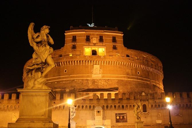 viajar a roma castillo de SantAngelo
