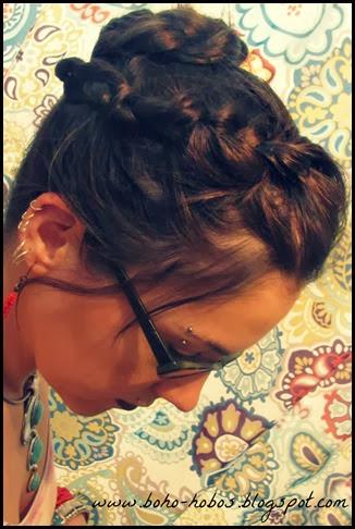 boho hobo hair