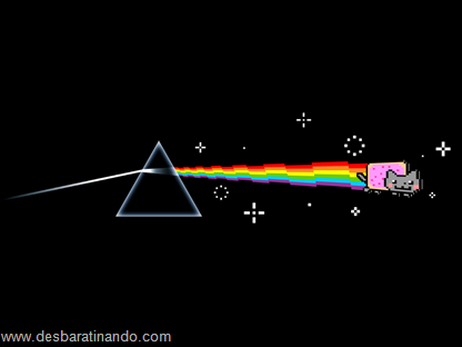 nyan cat wallpaper meme desbaratinando (1)