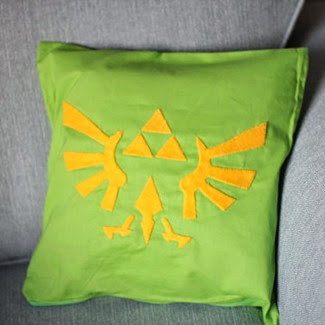 Zelda Cushion Cover from Citadel Traders on Etsy