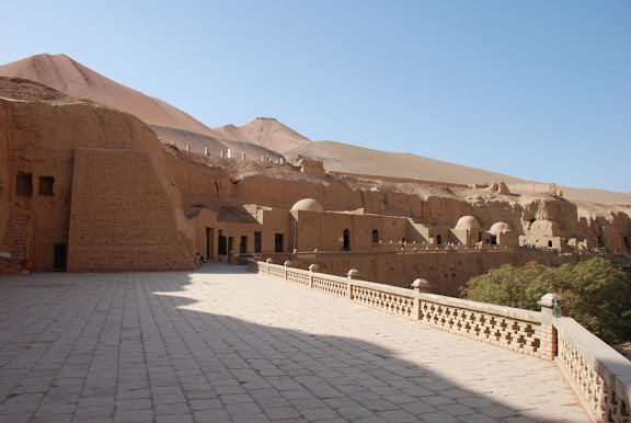 Flaming mountains - Site thousand bouddha cave