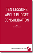 TEN LESSONSABOUT BUDGETCONSOLIDATION