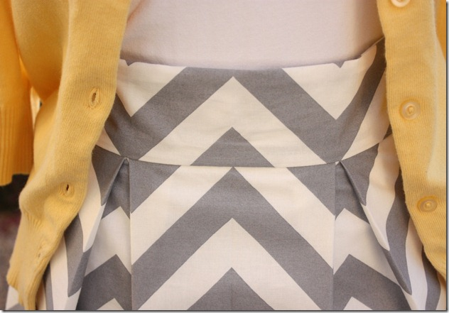 Waistband_Chevron Skirt