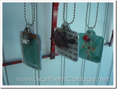 Mod Podge Pendants@NorthernCottage.net