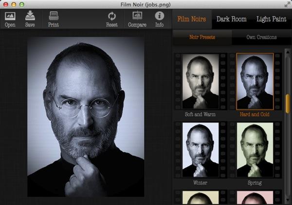 Mac app photography film noir2