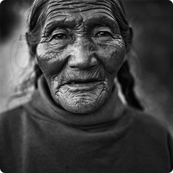 woman tibet aged beauty