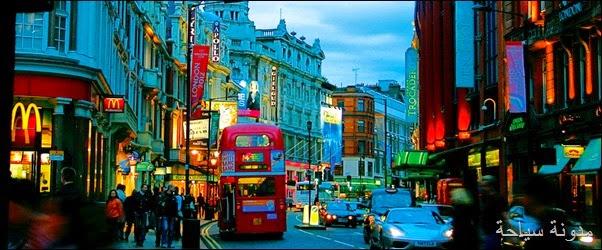 احياء لندن
