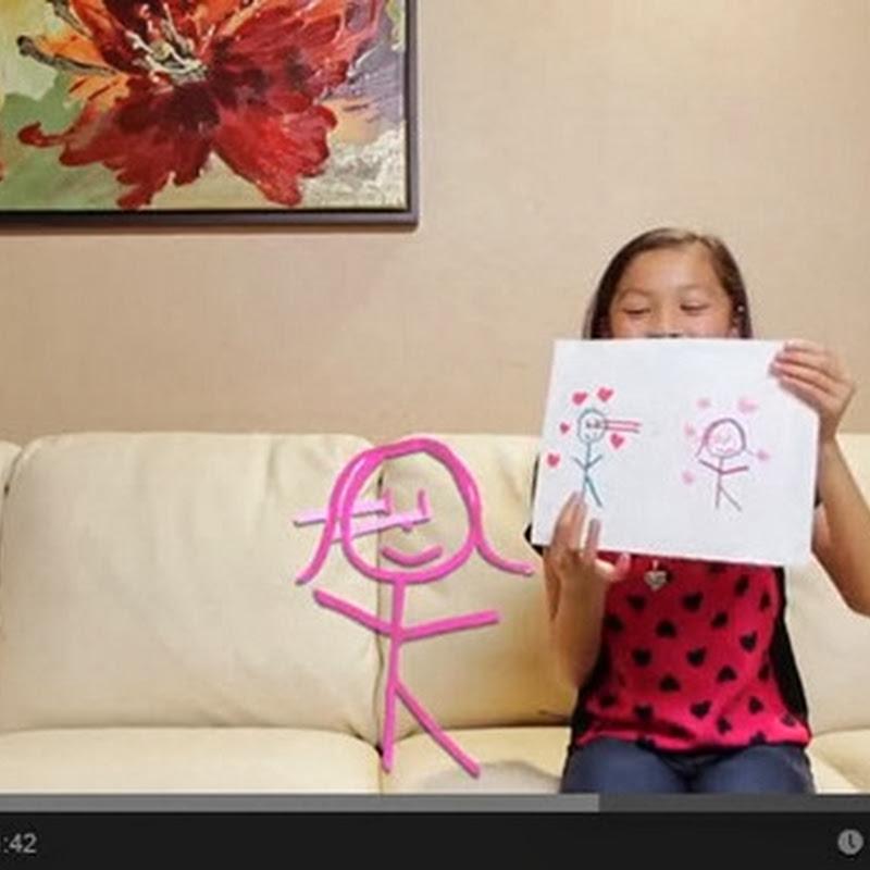 Πως εξηγούν τα μωρά την αγάπη