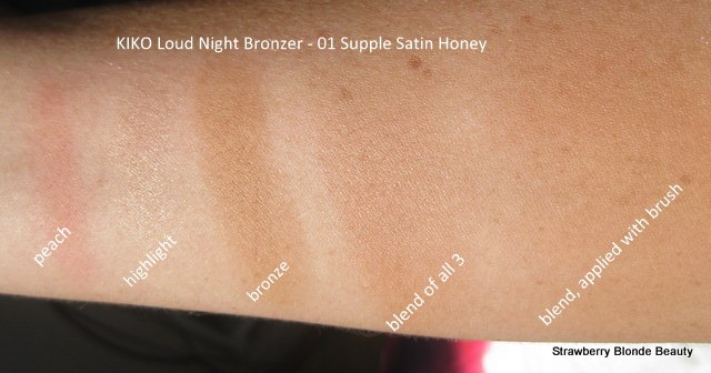 Kiko-Dark-Heroine-Loud-Night-Bronzer-01-Supple-Satin-Honey-swatches