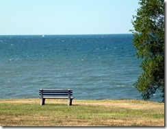Lake Ontario at Four Mile Creek State Park (NY)